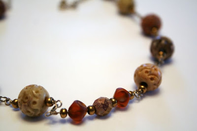 Earth: faceted stone, carved stone, metal beads :: All Pretty Things