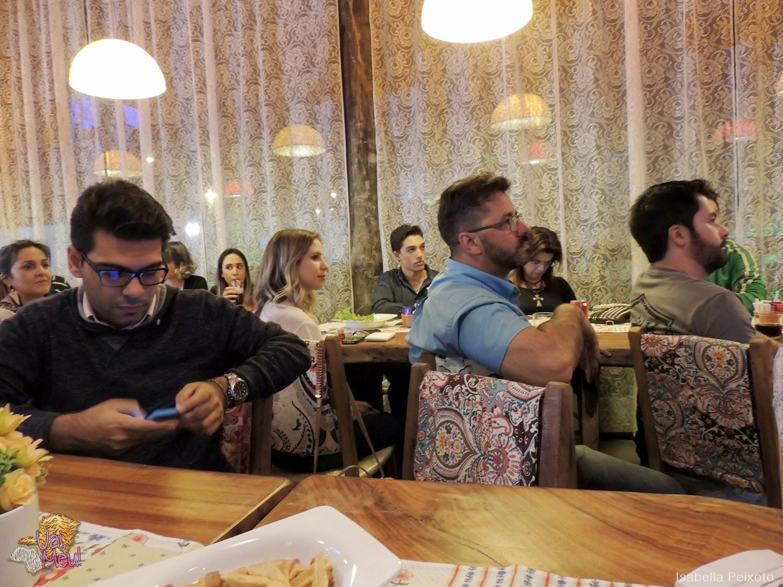 Blogueiros participando do 2º Papo de Blogueiros em Uberlândia