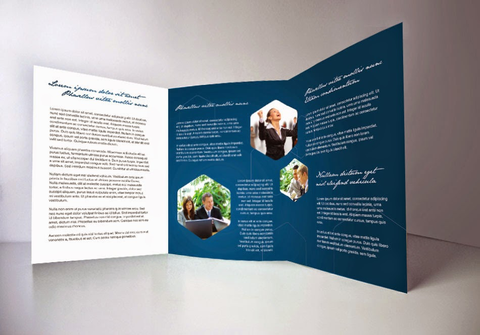 free indesign tri fold brochure template 1 free indesign