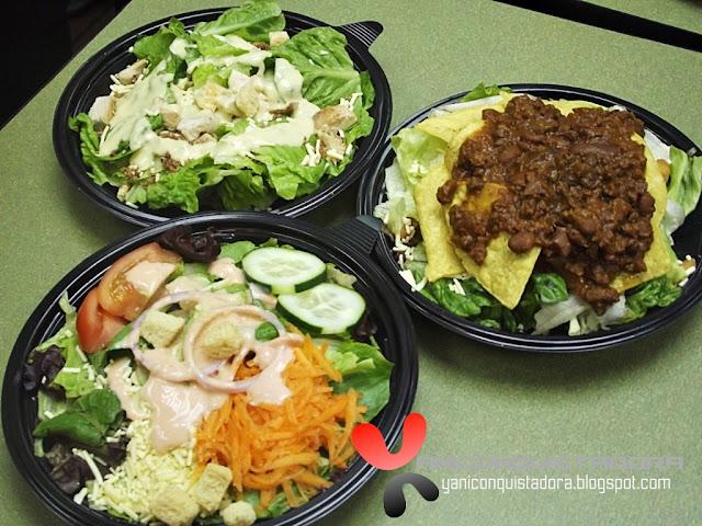 Wendy's Salad Sensations