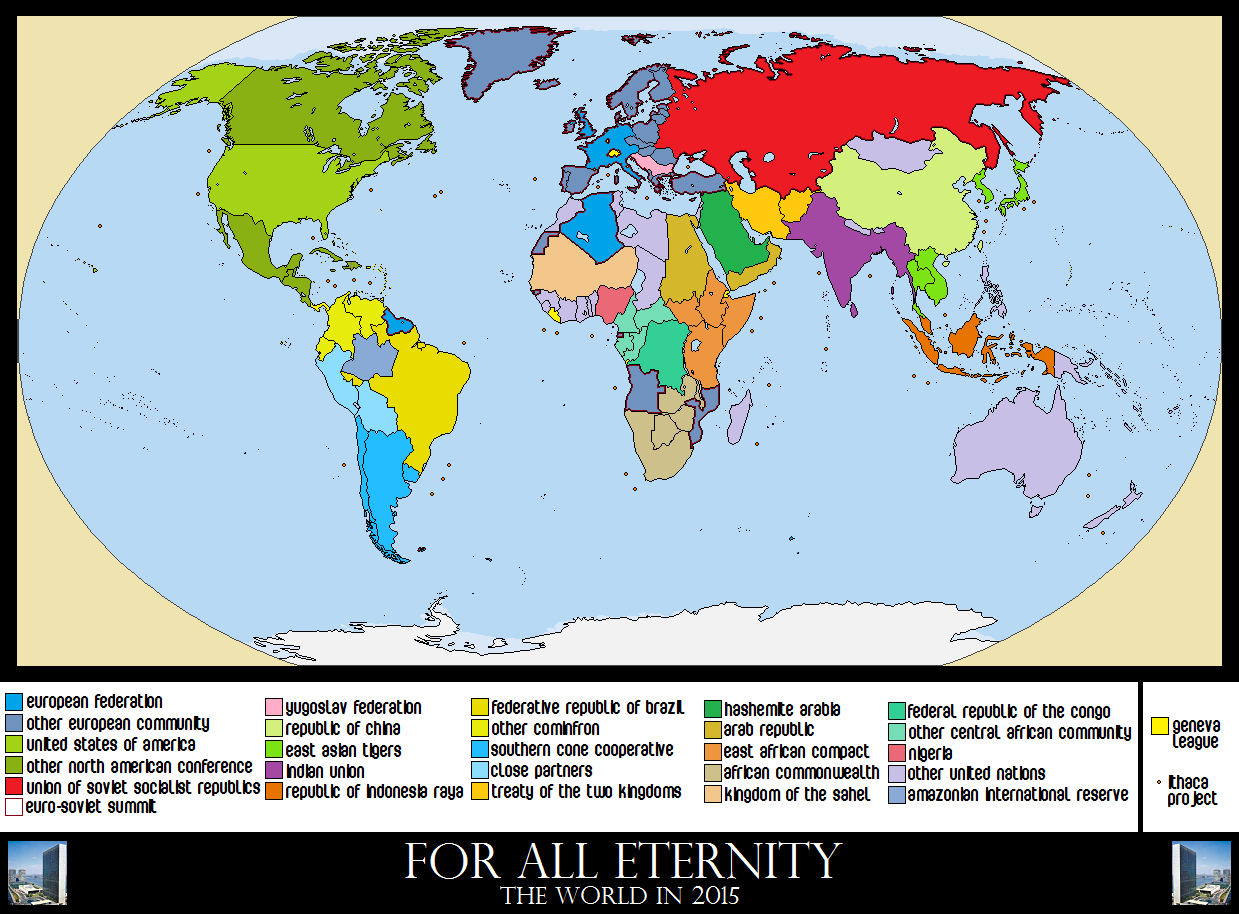 Alternate History Weekly Update Map Monday For All Eternity By - Dystopian us map