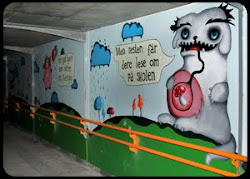 Gyllenborg tunnel, Tromsø. 2012