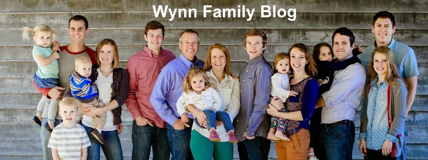 Wynn Family Blog
