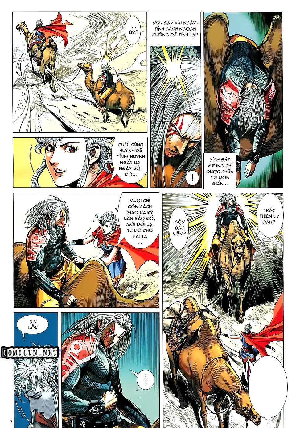 truyện tranh thiết tướng tung hoành Chapter 26/