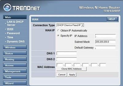 rutera konfiguracija