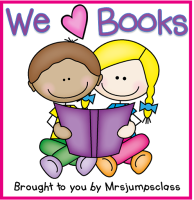 We Love Books Linky with Mrs Jump's Class Blog