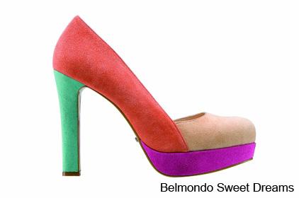 أحذية 2013 - ألوان زاهية لأحذية ربيع وصيف 2013