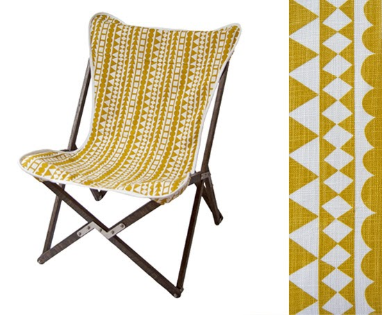 Safari Fusion  blog | Tripolina safari chair | Tripolina Chair (tribal) by Safari Fusion www.safarifusion.com.au
