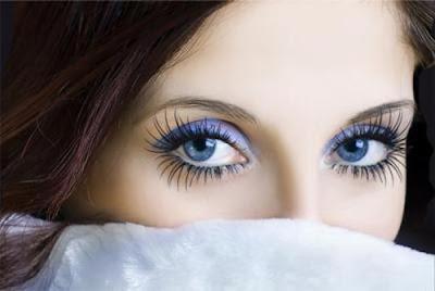 هل تتقنين اتيكيت لغة العيون؟ - عيون بنت امرأة فتاة جميلة ملونة - beautiful woman girl colored eyes