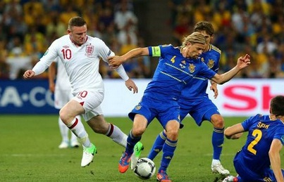 Hasil Inggris vs Ukraina,  Inggris vs Ukraina, Hasil Inggris vs Ukraina Euro Tadi Malam 21 Juni 2012