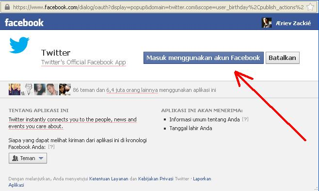 Artsoulinc, Tips dan Trick Facebook: CARA HUBUNGKAN