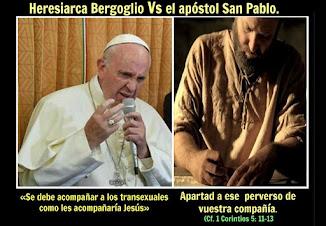 Bergoglio el Padre de la mentira.