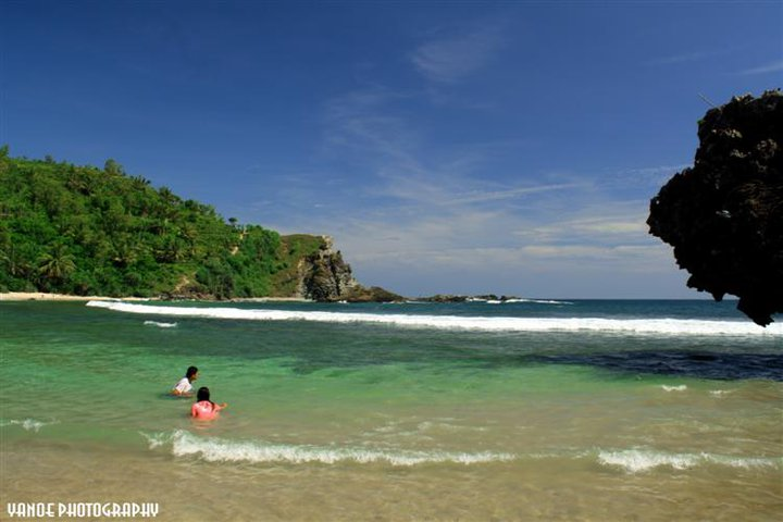 Beautiful Siung Beach