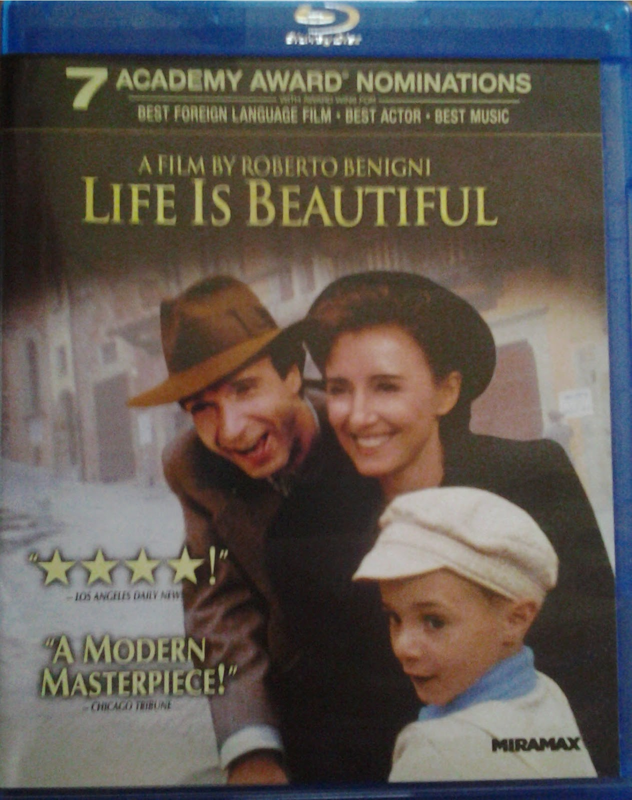 DVD Cover - Life Is Beautiful