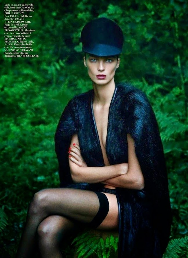 Daria Werbowy By Mert And Marcus For Vogue Paris September 2012