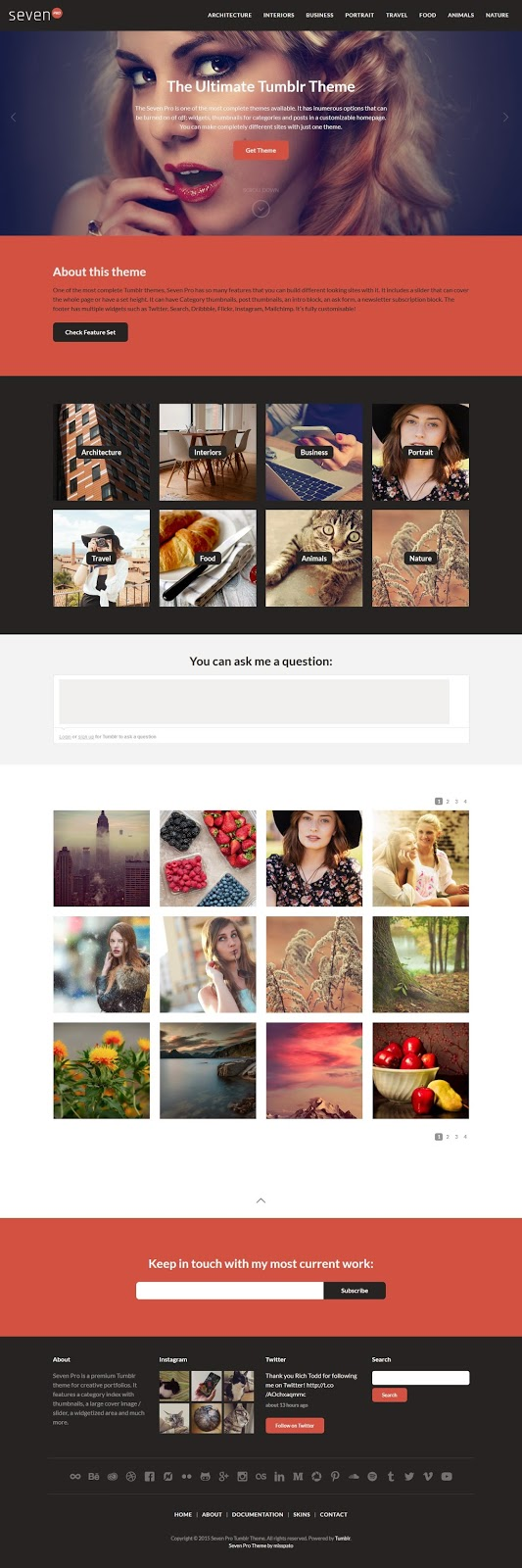 Best Premium Tumblr Theme 2015
