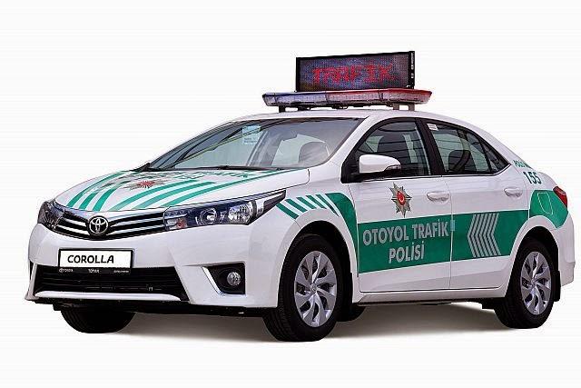 5 yıldızlı Corolla ,güvenliği sağlayacak..