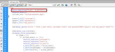 Cara mengatasi Error Undefined di ExeOutput for PHP