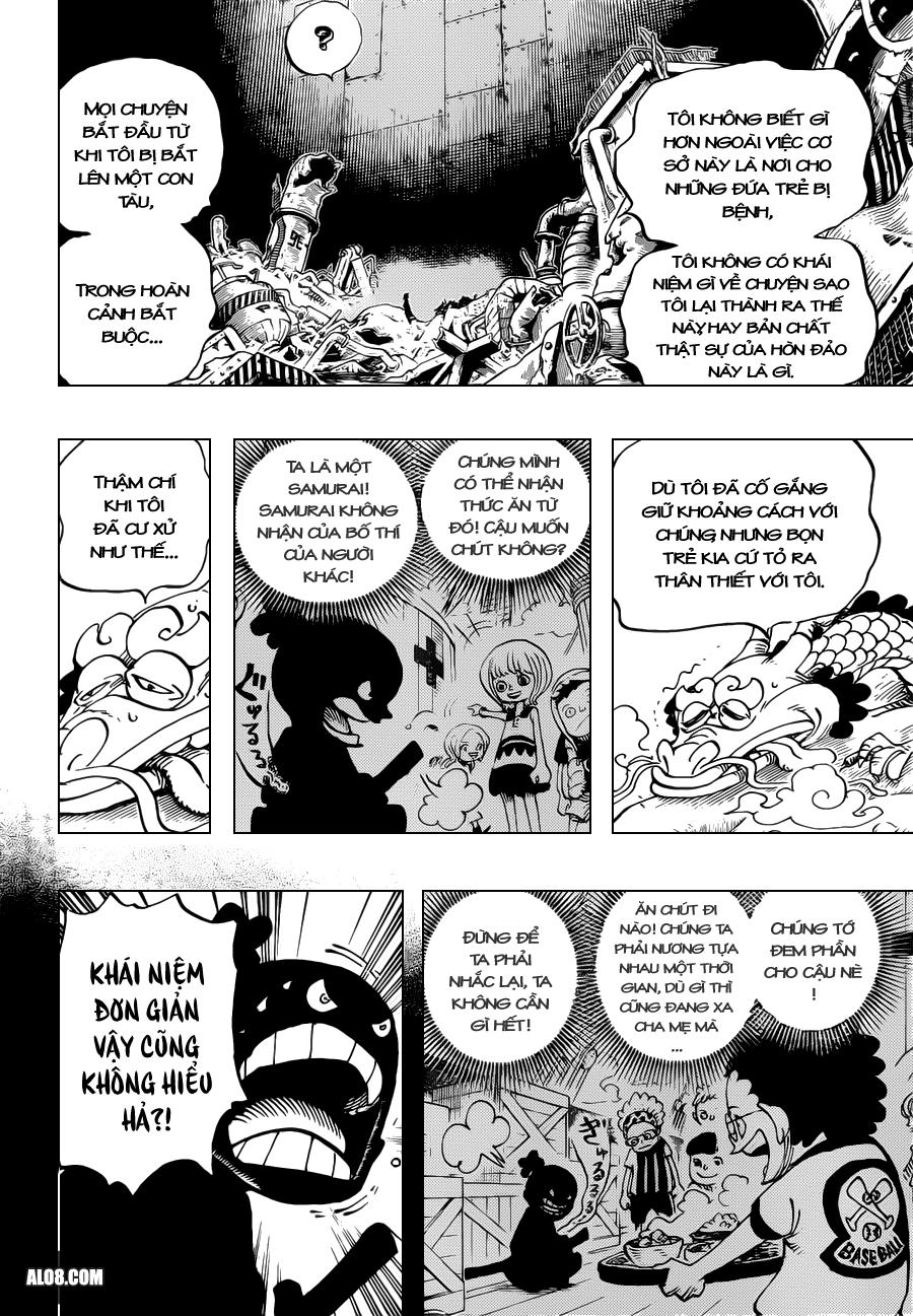 One Piece Chapter 685: Tên tôi là Momonosuke! 006