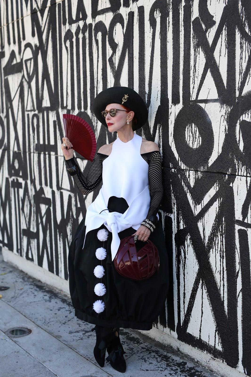 Streetstyle cực chất của những fashionista bô lão