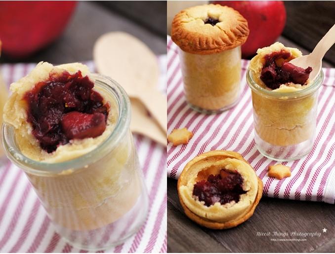 granatapfel pies im glas pomegranate pie in a jar nicest things. Black Bedroom Furniture Sets. Home Design Ideas