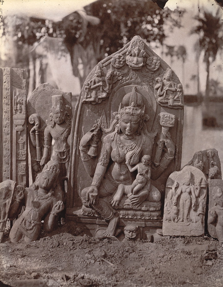 Statue deesse indienne