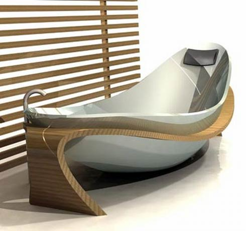 World of interior design design of the week 4 2 4 8 bath tubs