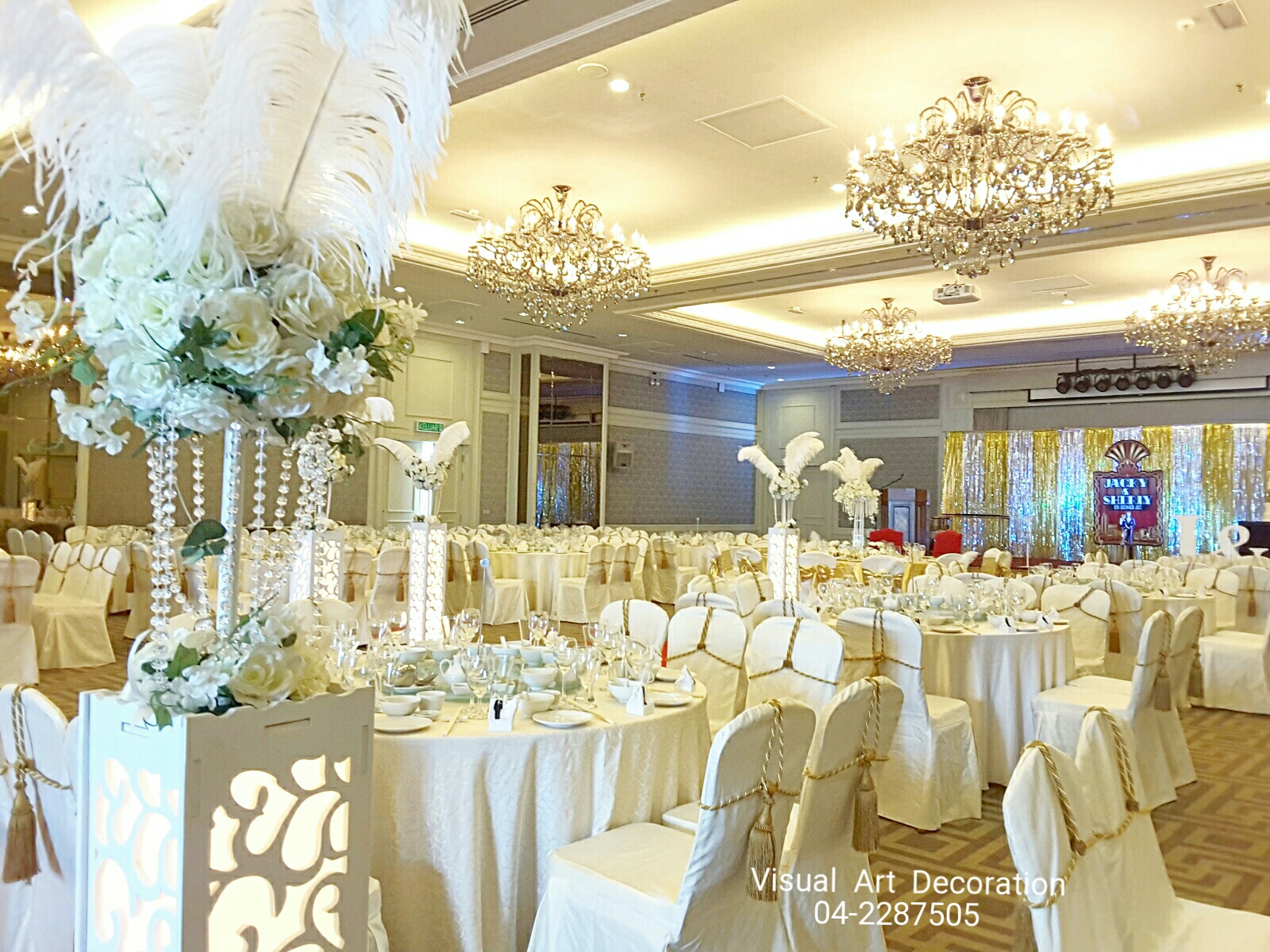 Visual art penang wedding party and event decoration penang eo hotel the great gatsby themed wedding junglespirit Choice Image