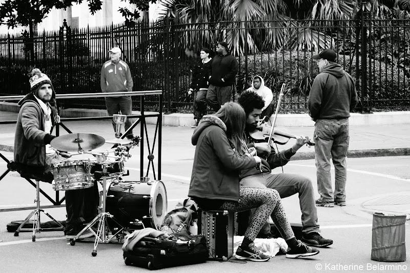 Violin Street Musicians New Orleans