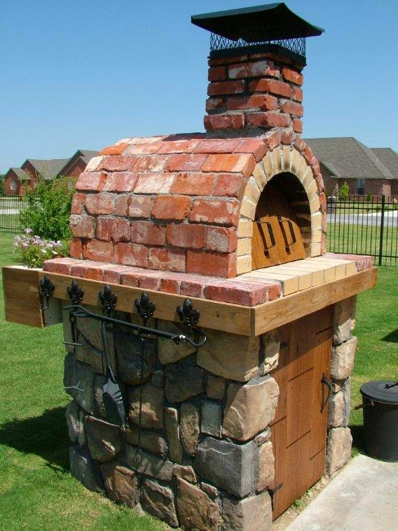 outdoor brick oven plans house design and decorating ideas