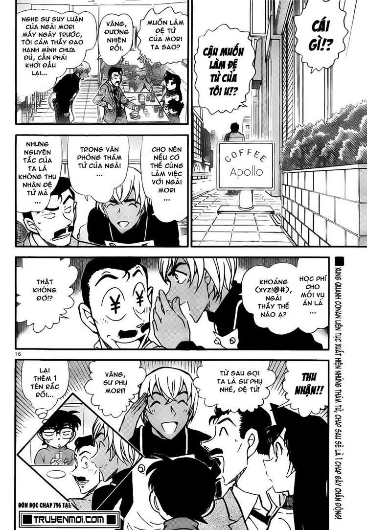 Detective Conan - Thám Tử Lừng Danh Conan chap 795 page 16 - IZTruyenTranh.com