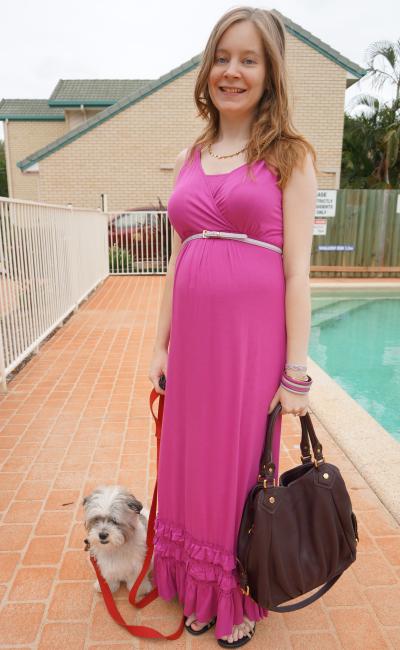 Zibibo Australia MEV Havana Maxi Dress in Iris Orchid MbMJ Fran