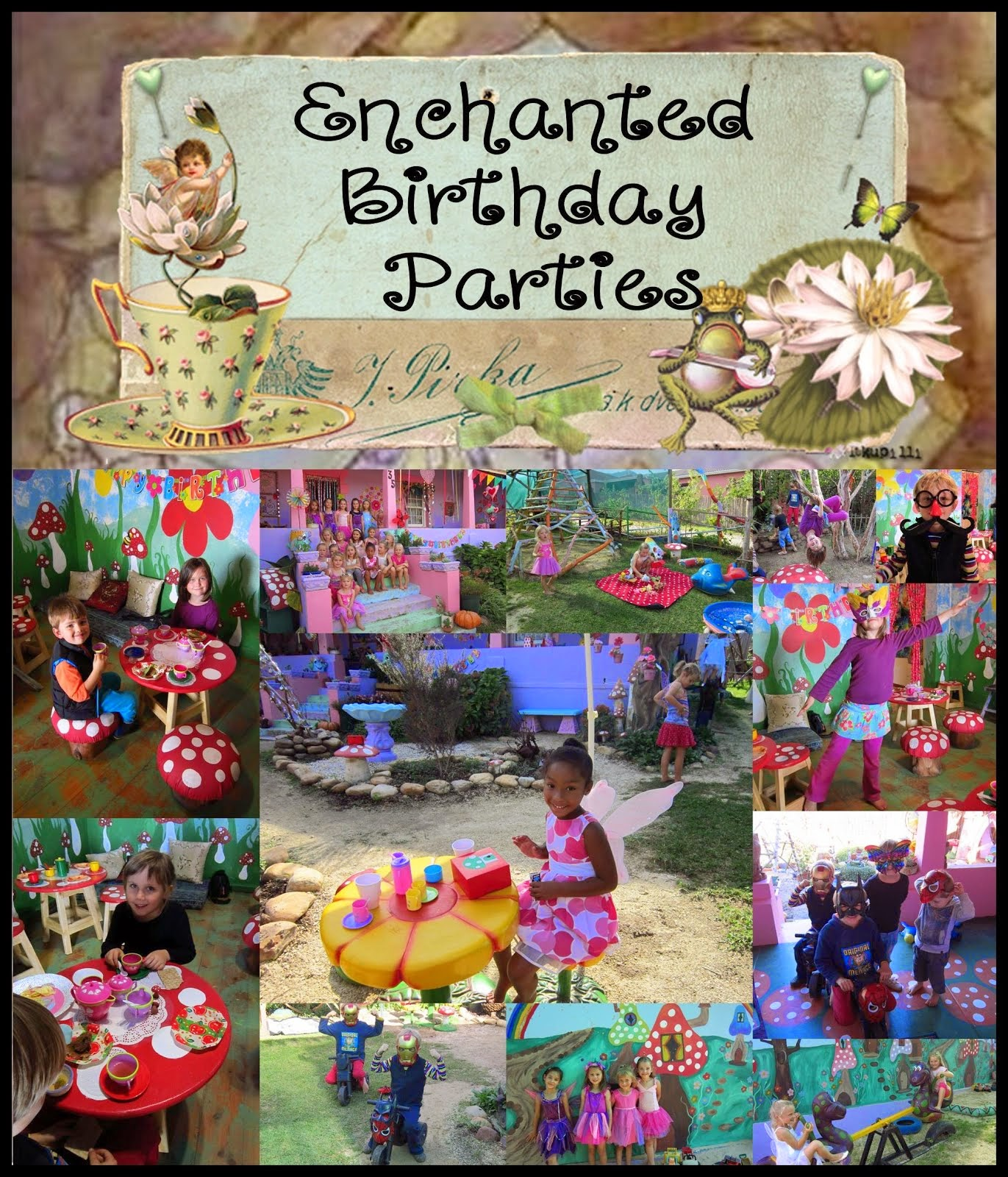 ENCHANTED BIRTHDAY PARTIES