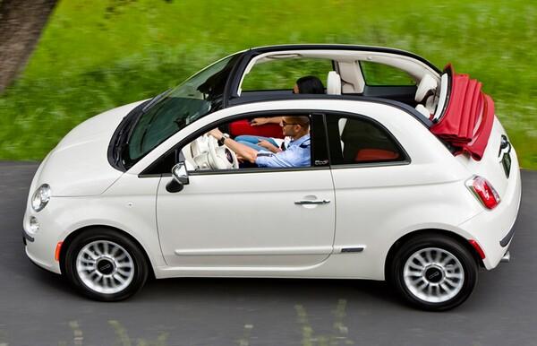 New Fiat 500 Cabrio Convertible  BonjourLife