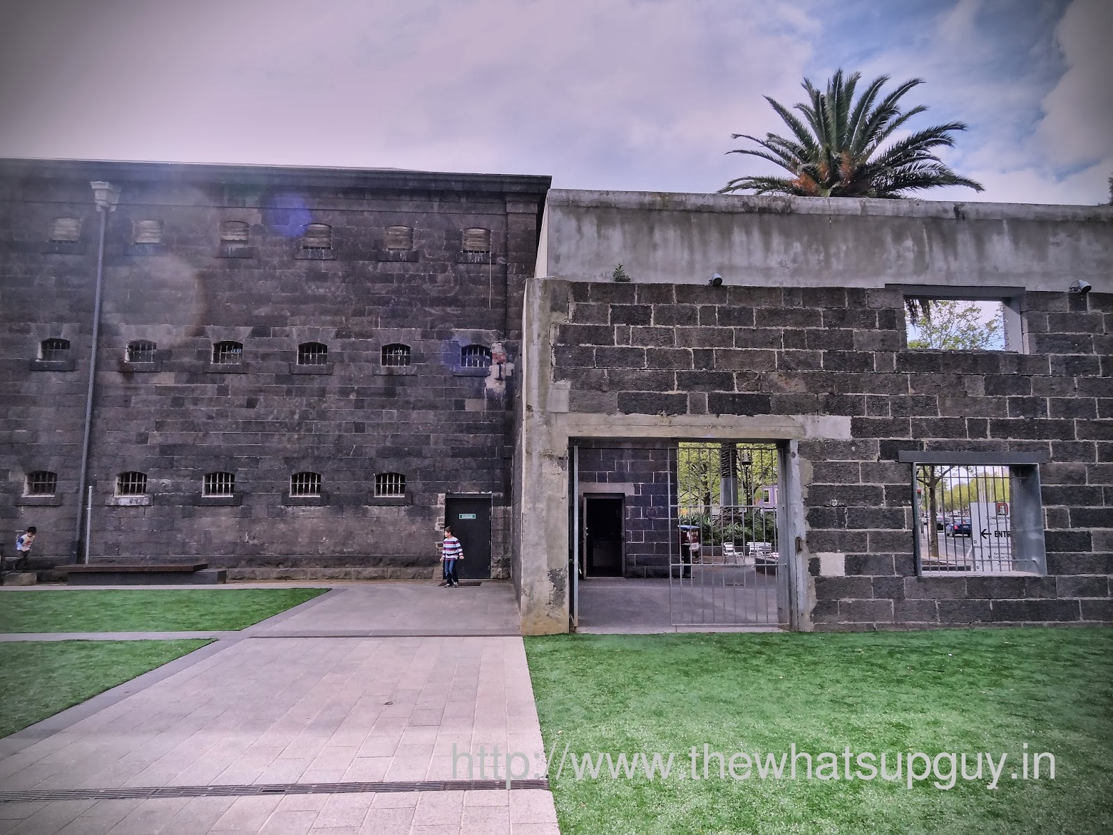 Old Melbourne Gaol Outside