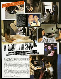 Magazine Photoshoot: Sara Sampaio  Photoshoot For Grazia Moda Italia Magazine December 2013
