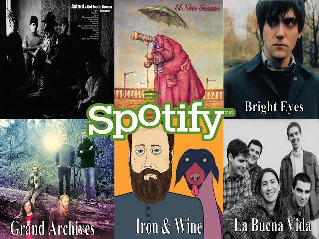 Un marco comparable (Spotify Marzo)