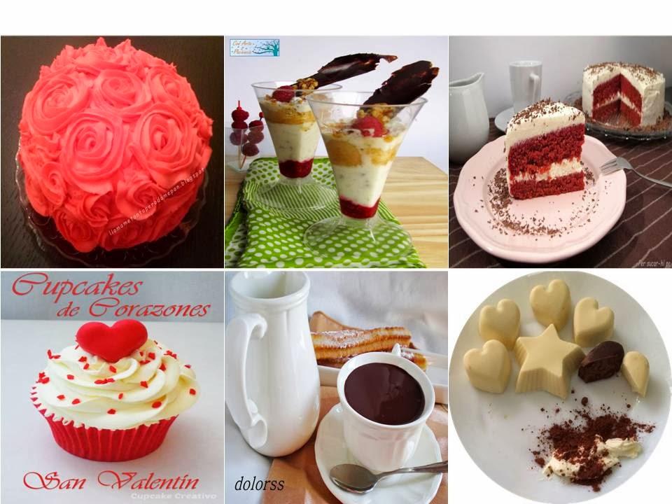 postres,dulces,chocolate,san,valentin,fresa,mermelada,frambuesas,rosas,bombones,churros,cupcakes,nata