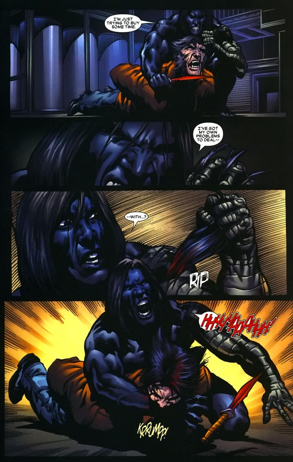 Read online Wolverine (2003) comic -  Issue #39 - 16