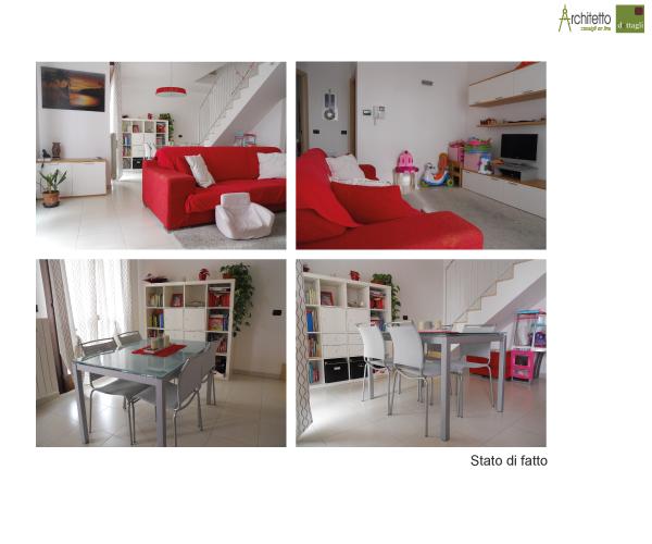 Restyling di un soggiorno moderno blog di arredamento e - Arredare sottoscala soggiorno ...
