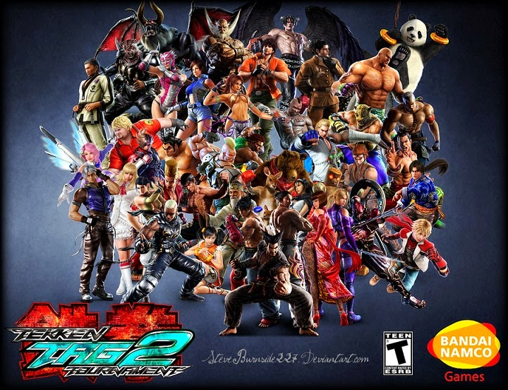 Tekken Tag Tournament 2 game characters