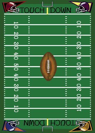 Football Field Clip Art