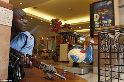 tembak menembak, westgate mall, kenya, orang awam terbunuh, rakaman video, ekslusif