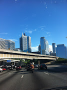 I love the Atlanta skyline. traffic. notsomuch.