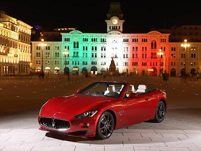 2012 Maserati GranCabrio Sport Wallpaper