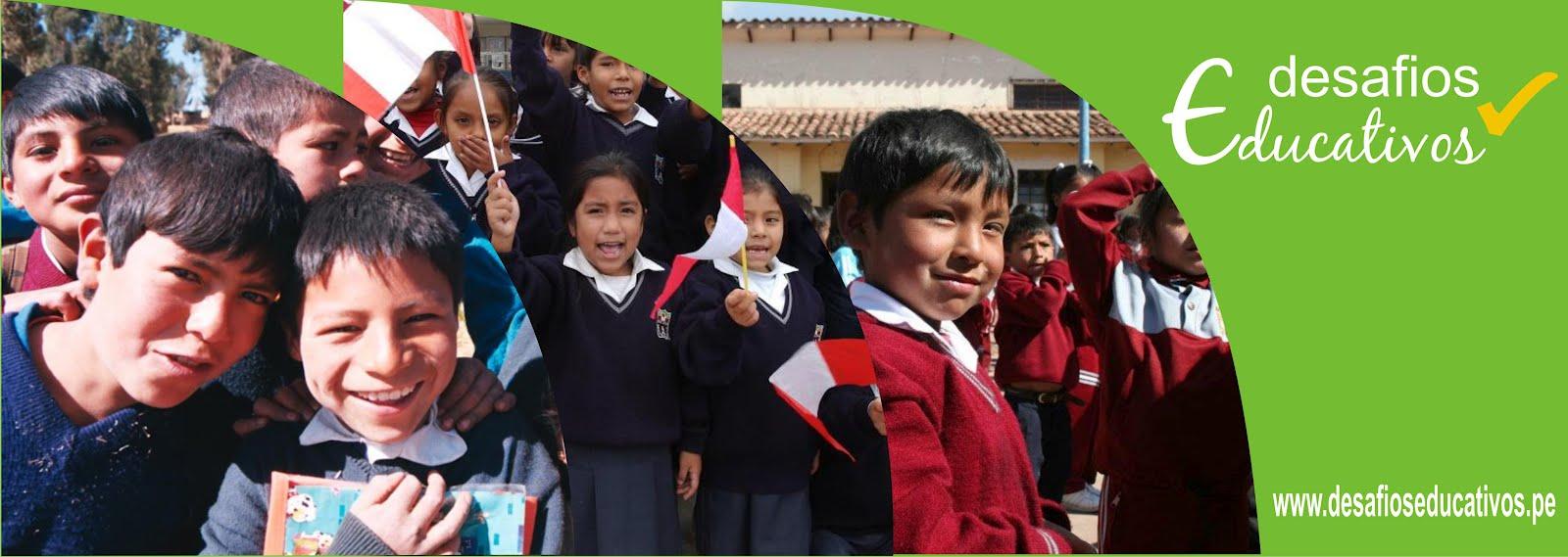 Noticias del Sector Educación del Perú...Escribe un Desafío Educativo...