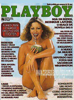 Confira as fotos da atriz, Monique Lafond, capa da Playboy de abril de 1981!