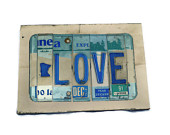 Love License Plate Sign by SweetSomeday on UpcycleFever