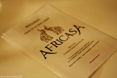 AFRICASA – Quand cuisine Africaine du terroir évolue en cuisine fusion