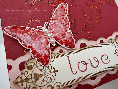 Stampin' Up! Creative Elements Valentine Card